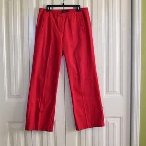 Talbots Pink Cotton Pants Size 10